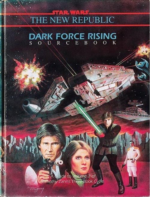 Star Wars D6 - Dark Force Rising Sourcebook (B Grade) (Genbrug)